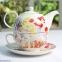 Набор для чаепития Churchill Collier Campbell Painted Garden tea for one (COCA00181) 0