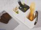 Органайзер для кухонных принадлежностей JOSEPH JOSEPH Counterstore с разделочной доской Белый (85121) 5