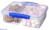 Ємність для зберігання сипучих продуктів Sistema Klip It Blue 2 л (1720) 2