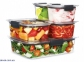 Контейнер харчовий герметичний для зберігання SISTEMA BRILLIANCE 0,92 л (55110) 4