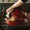 Ростер для запекания курицы Emile Henry HR Oven Ceramic Ovenware 34 x 24 x 19 см Красная (348442) 2