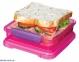Ланч-бокс для сэндвичей SISTEMA LUNCH 0,450 л (31646-2 green) 0