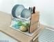 Сушилка Metaltex для посуды и столовых предметов 45х31х28 см (325602) 0