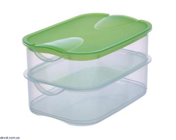 Набор RIVAL контейнеров для хранения 2 шт 230x155x120 мм (RIVAL151740)