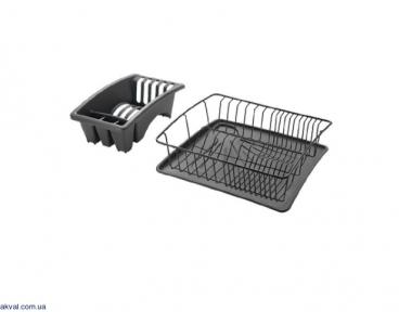 Сушилка METALTEX для посуды 35x30 см AQUANET PLUS (325226 024)