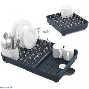 Раздвижная сушилка для посуды JOSEPH JOSEPH Extend Серая (85040)