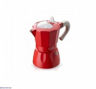 Гейзерная кофеварка GAT ROSSANA красная на 2 чашки (103102) red