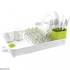 Раздвижная сушилка для посуды JOSEPH JOSEPH Extend Белая (85071)