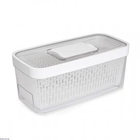 Контейнер для зберігання з клапаном OXO FOOD STORAGE, 16х33х14 см, білий (11140100)
