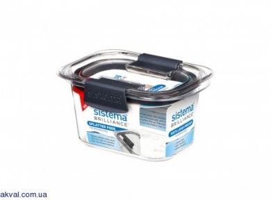 Контейнер пищевой для хранения SISTEMA BRILLIANCE  0,38 л (55105)