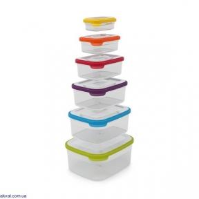 Набір контейнерів Joseph Joseph Nest Storage 6 шт (81005)