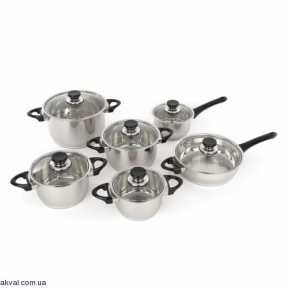 Набор посуды BergHOFF Vision Premium 12 предметов (1112105)