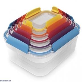 Набір контейнерів харчових Joseph Joseph 5 предметів (81081)