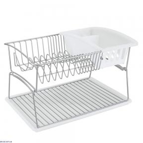 Сушилка Metaltex для посуды и столовых предметов 45х31х28 см (325602)
