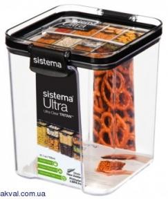 Контейнер харчовий для зберігання SISTEMA ULTRA 0,92 л (51402)