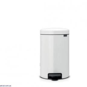 Ведро для мусора Brabantia Pedal Bin 12 л White (111969)