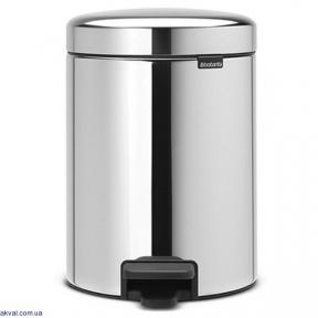 Бак для мусора Brabantia Pedal Bin 5 л Steel (112621)