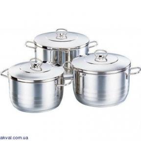 Набор посуды KORKMAZ ASTRA MIDI 6 предметов (A1802)