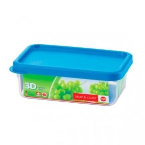 Прямоугольный пищевой контейнер EMSA SNAP & CLOSE 0,95л (EM508577)