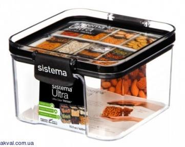 Контейнер харчовий для зберігання SISTEMA ULTRA 0,46 л (51400)