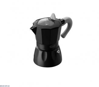 Гейзерная кофеварка GAT ROSSANA черная на 6 чашек  (103106) Black