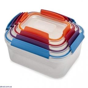 Набор контейнеров пищевых Joseph Joseph 4 предмета (81090)