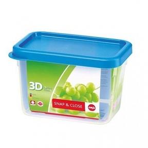 Прямоугольный пищевой контейнер EMSA SNAP&CLOSE 1 л. (EM508578)