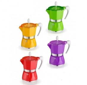 Гейзерная кофеварка GAT BELLA 9 чашек (103809)