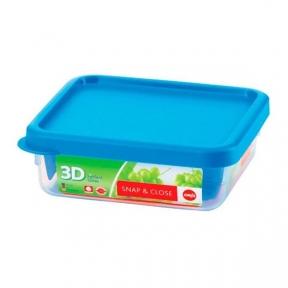Квадратный пищевой контейнер EMSA SNAP & CLOSE 0,75л (EM508573)