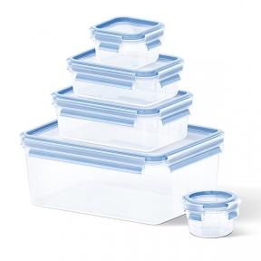 Набір з 5ти контейнерів  EMSA CLIP & CLOSE 3D (EM508568)