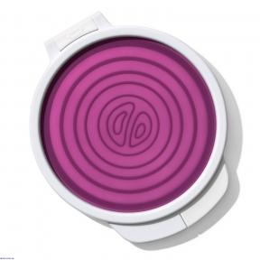 Контейнер гнучкий для зберігання цибулі ОХО FOOD STORAGE, фіолетовий (11250100)