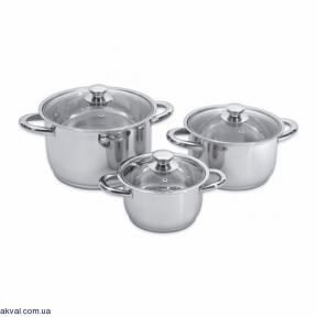 Набор посуды BergHOFF Vision Prima из 6 предметов (1106031)