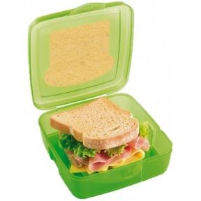 Контейнер SNIPS для бутербродов 0,5 л Green (SN000800)