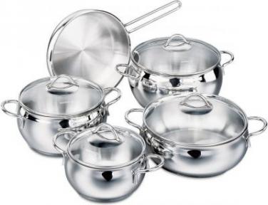 Набор посуды из 9 предметов Korkmaz A1800