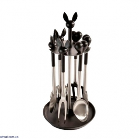 Кухонный набор BergHOFF Lover by Lover из 7 предметов Черно-серый (3800000)