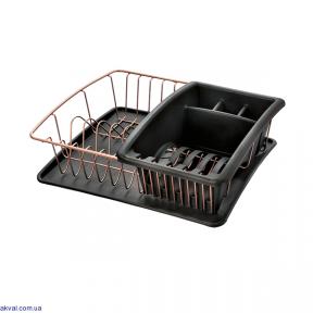 Сушилка METALTEX COPPER для посуды (325826)
