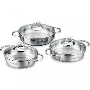 Набор посуды из 6 предметов Korkmaz (A1805)