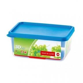 Прямоугольный пищевой контейнер EMSA SNAP&CLOSE 2,2 л. (EM508581)