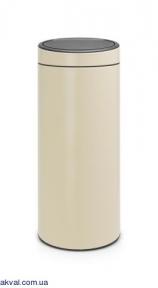 Ведро для мусора Brabantia Touch Bin 30 л Almond (115042)