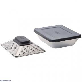 Терка четырехсторонняя Joseph Joseph Prism Box с контейнером для хранения и крышкой (20104)