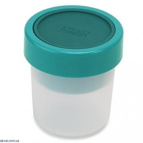 Пищевой контейнер для снэков круглый Joseph Joseph GoEat Compact 2 в 1 340 мл (81068)