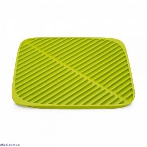 Коврик для сушки посуды JOSEPH JOSEPH Flume 31x31x1 см Зеленый (85086)