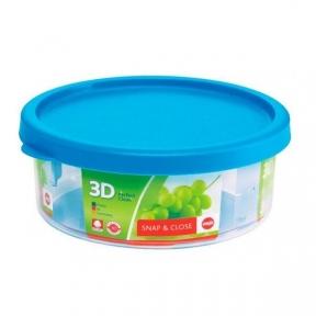 Круглый пищевой контейнер EMSA SNAP & CLOSE 0,8л (EM508589)