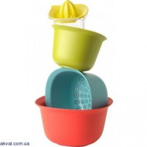 Кухонный набор Brabantia Tasty Colours из 4 предметов (110047)