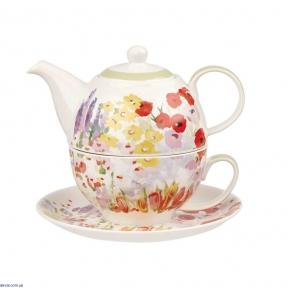 Набор для чаепития Churchill Collier Campbell Painted Garden tea for one (COCA00181)