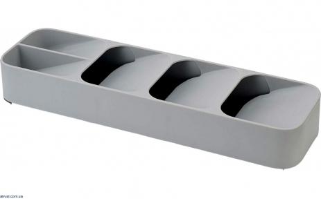 Органайзер для столовых приборов Joseph Joseph DUO серый (80082)