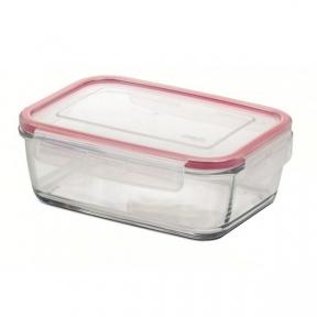 Прямоугольный стеклянный контейнер EMSA CLIP&CLOSE 0,39 л. (EM508107)