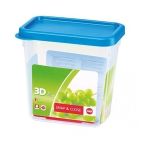 Прямоугольный пищевой контейнер EMSA SNAP&CLOSE 1,5 л. (EM508580)