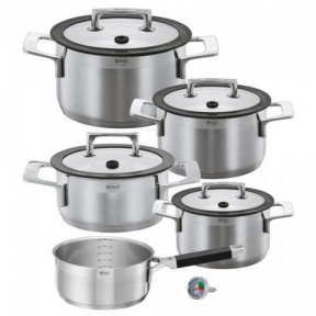 Набір посуду з 5 предметів з термодатчиком Roesle Silence (R91392)