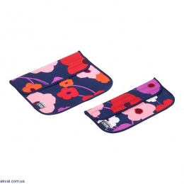 Термочехол Built Sandwich and Snack Sleeve Set 2 шт. Lush Flower (5149356)